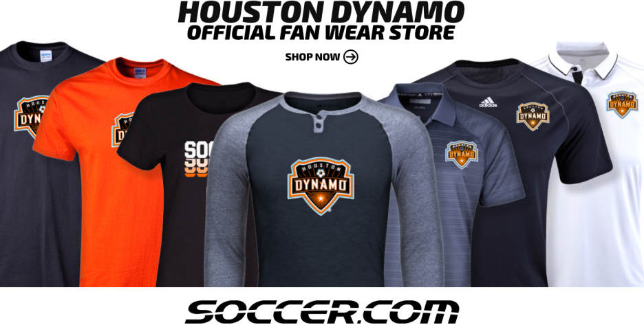 Houston Dynamo Fan Wear